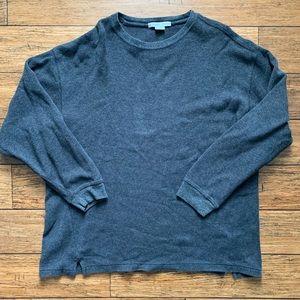 Grey Crew Neck Sweater